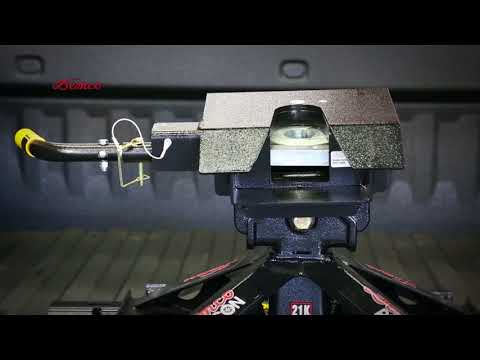 Lightweight 21K Recon 5th Wheel Hitch–Features & Benefits (Industry Standard Bed Rails)