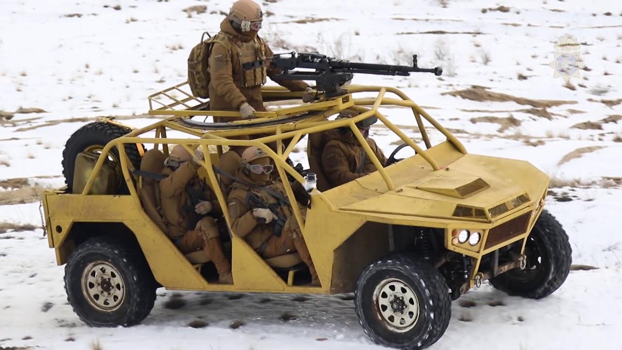 «Дуршлаг» и «бегущая мишень». Новое авто Нацгвардии Украины высмеяли в Сети