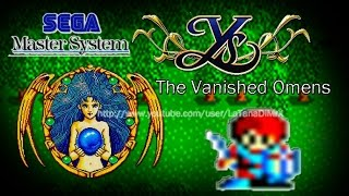 Ys The Vanished Omens (イースI) 100% Sega Master System 1988 [ HD ]
