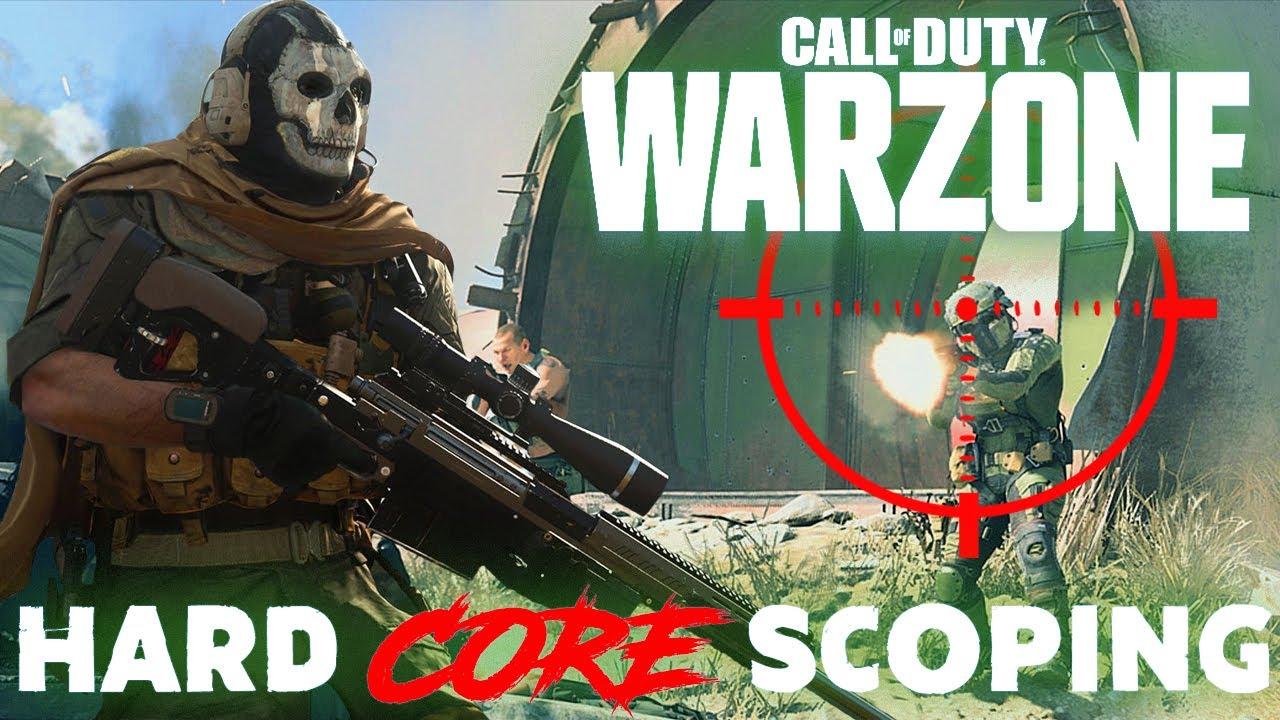 Hardcore Scoping in CoD WARZONE!!!