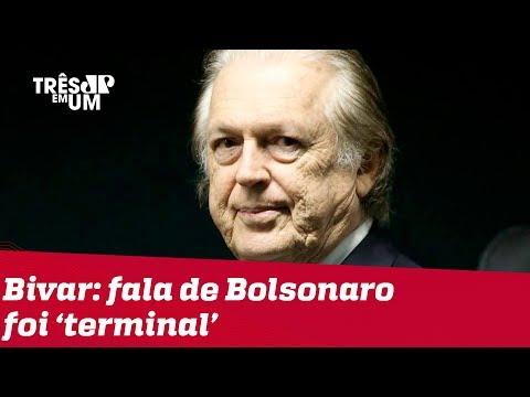 Bivar Afirma Que Fala De Bolsonaro Sobre O PSL Foi 'terminal'