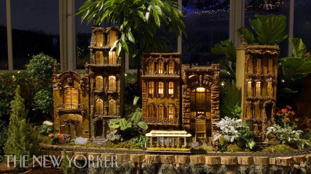 Holiday Train Show At The New York Botanical Garden The New Yorker Youtube