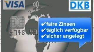 DKB Tagesgeld auf Visa Card ► so funktioniert es!