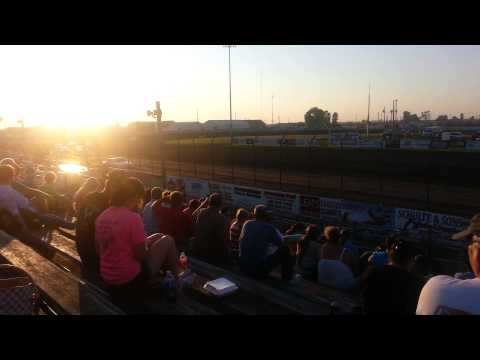 Lee county speedway hobby stock heat 7/24/15