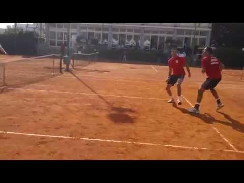 Davis Cup - Tennis Football - Murray & Evans vs Fleming & Hutchins