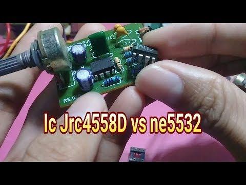 Modif subwoofer agar bass lebih bulat dan empuk pakai ic ne5532