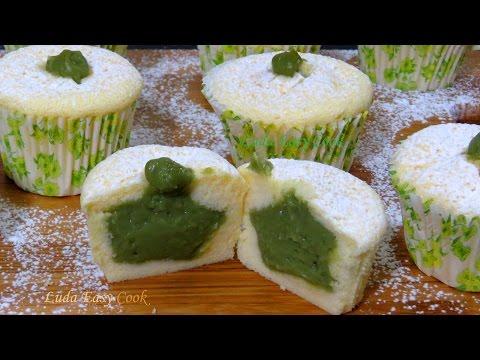 Японские хлопковые мини #ЧИЗКЕЙКИ #капкейки #маффины с Кремом #МАТЧА Bánh Cupcake Phô mai Nhật bản