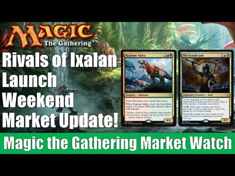 MTG Market Watch: Rivals of Ixalan Launch Weekend Market Update