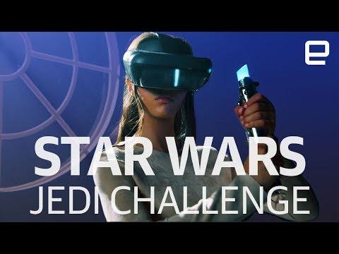 Lenovo Star Wars Jedi Challenges hands-on