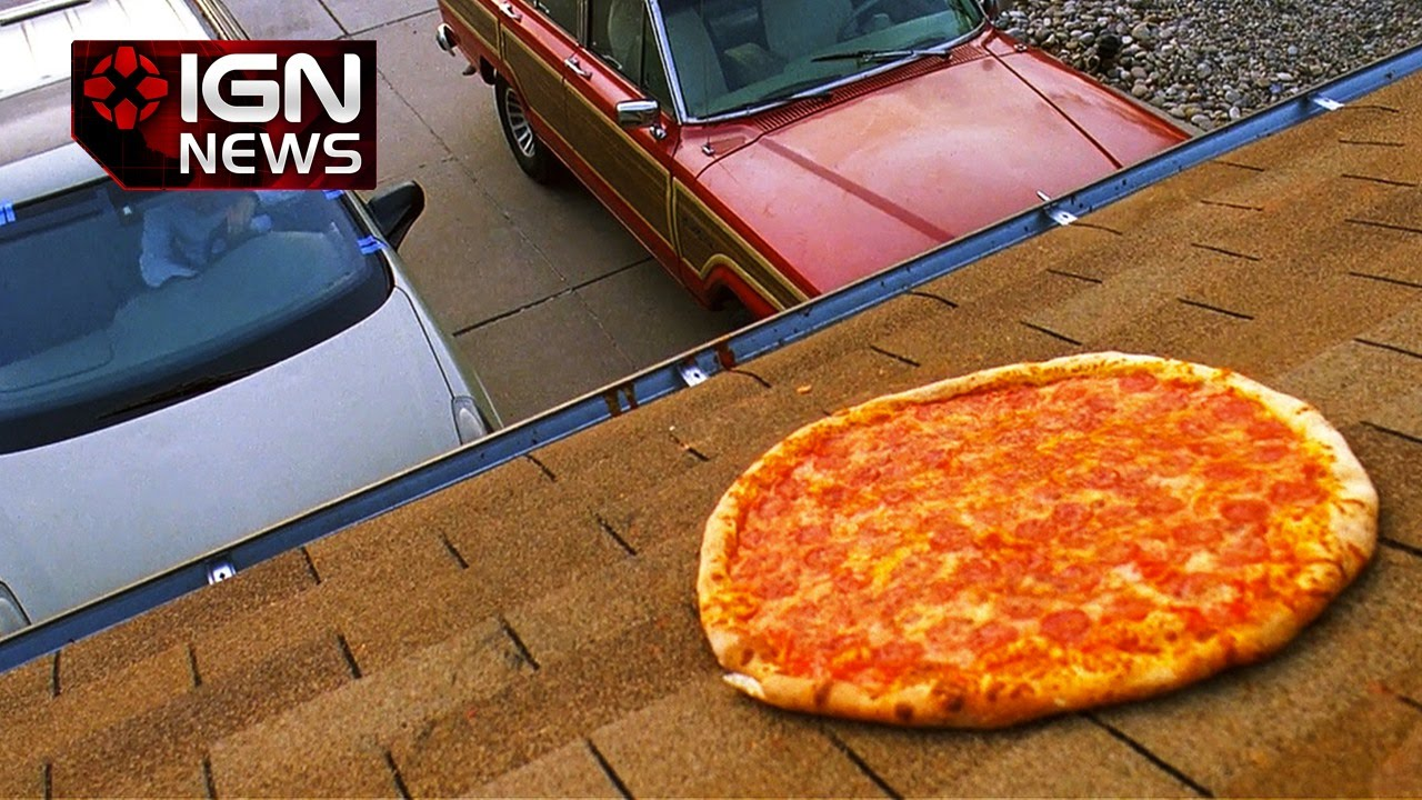People Keep Throwing Pizzas On The Roof Of The Breaking