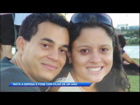 Homem foge com o filho após matar esposa