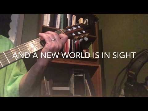 """JW • """"Now is the Time"""" - Guitar ONLY w/ Lyrics  ©Watchtower Bible & Tract Society"""