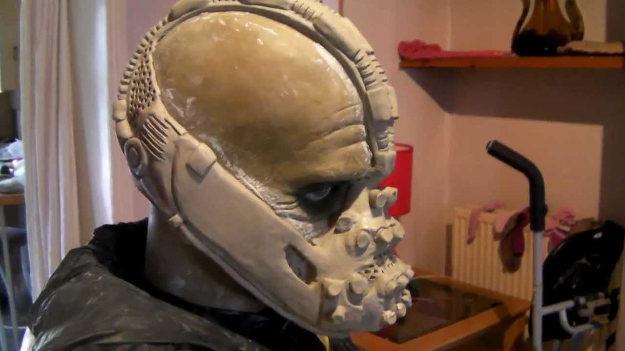 & Bane replica mask. - YouTube