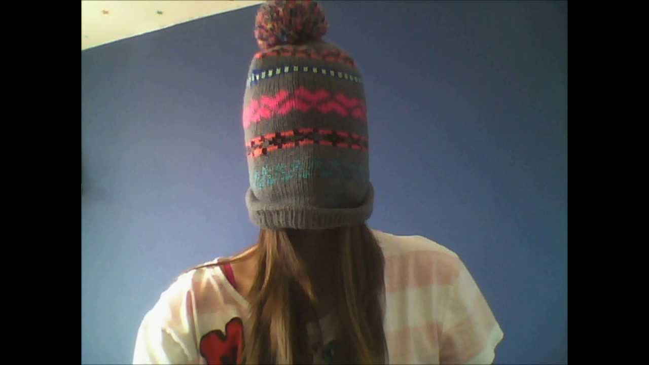 51b589a7890 6 Ways To Wear A Beanie For Girls - YouTube
