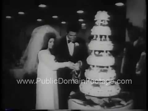 Elvis Presley Marries Priscilla Beaulieu 1967 Newsreel Archival Stock Footage