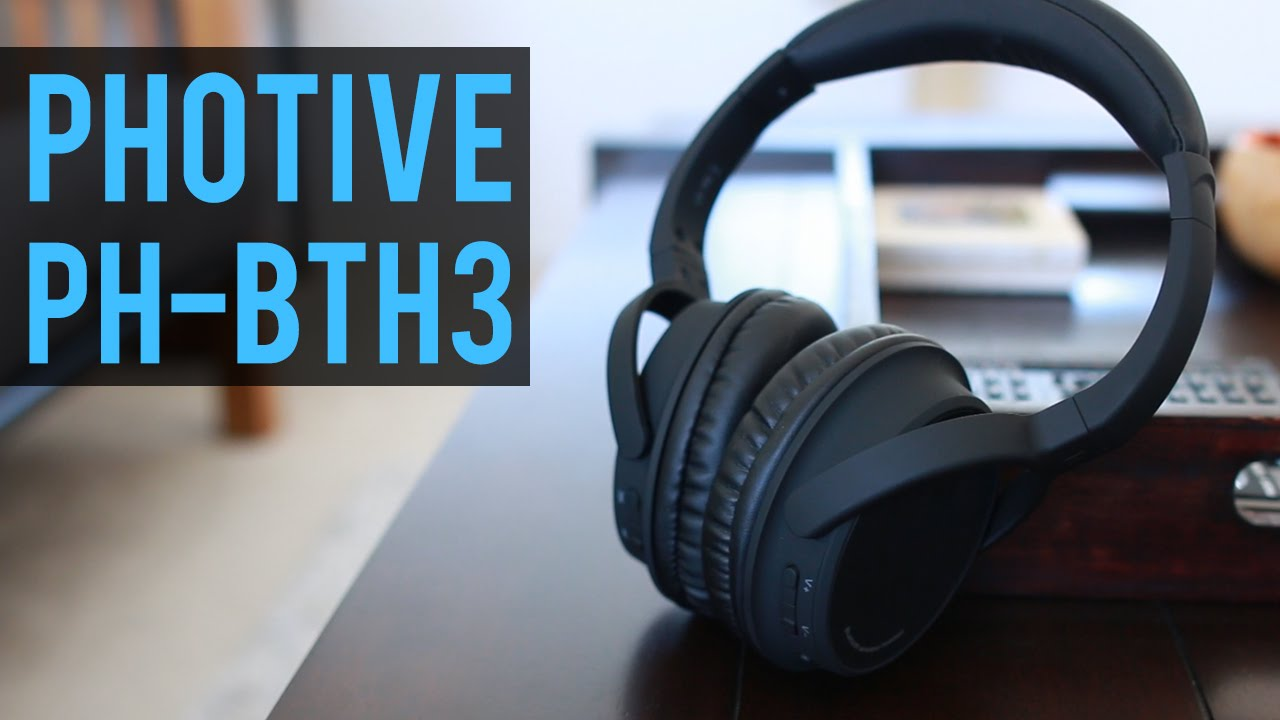 photive ph bth3 bluetooth headphones review youtube. Black Bedroom Furniture Sets. Home Design Ideas