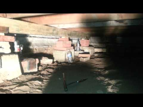 Home foundation repair/sagging floor part 1