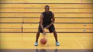 Баскетбольная тренировка. Ведение мяча, упражнение