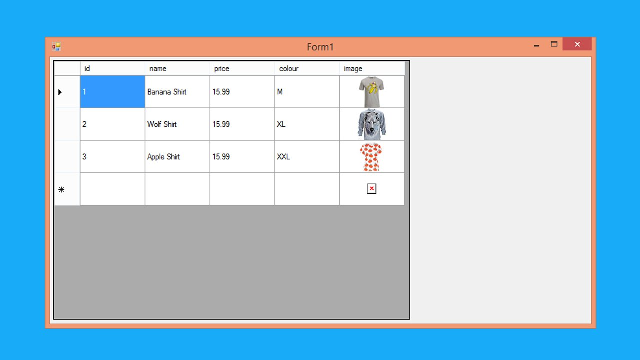 File 02 C Load Csv And Show Image On Datagridview C
