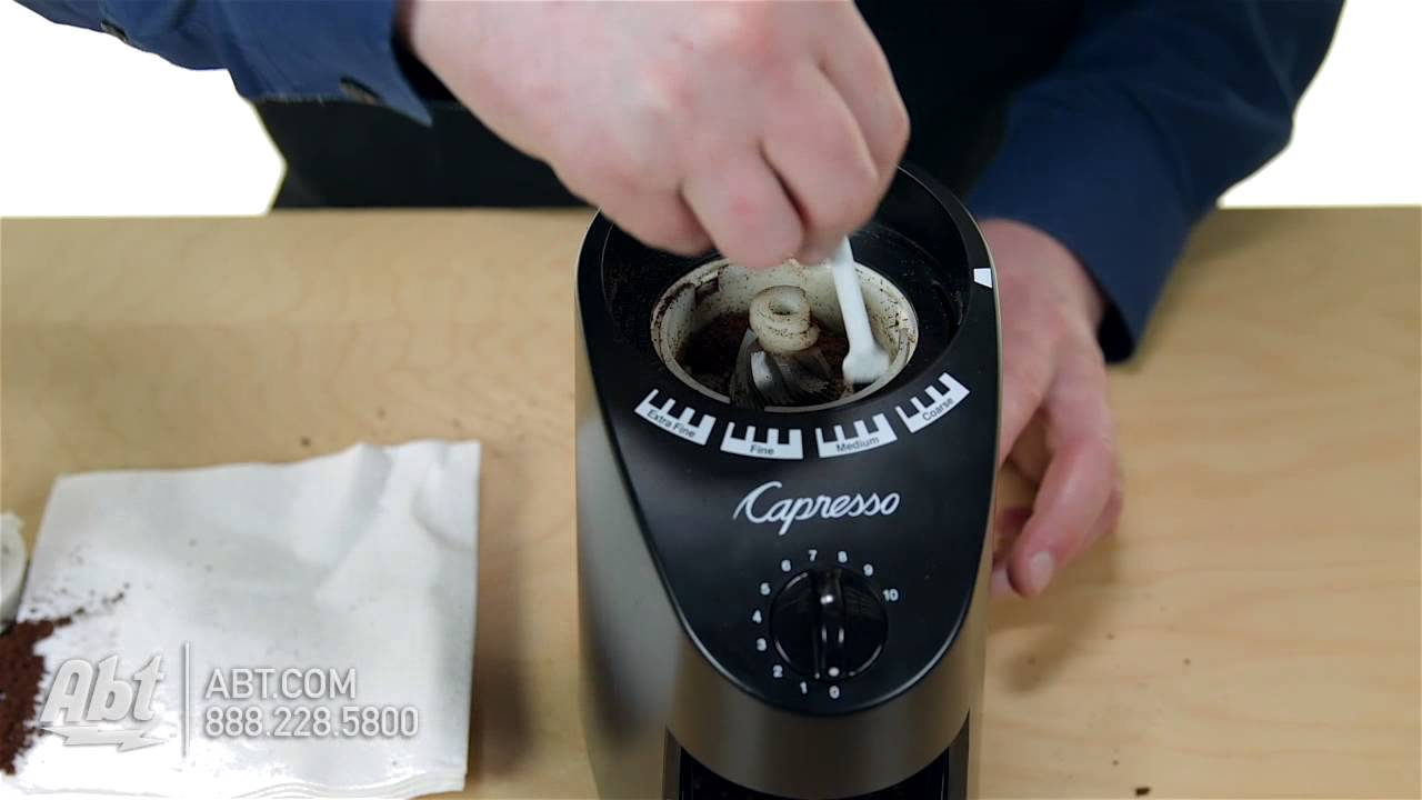 infinity grinder container coffee review burr capresso coffeesphere