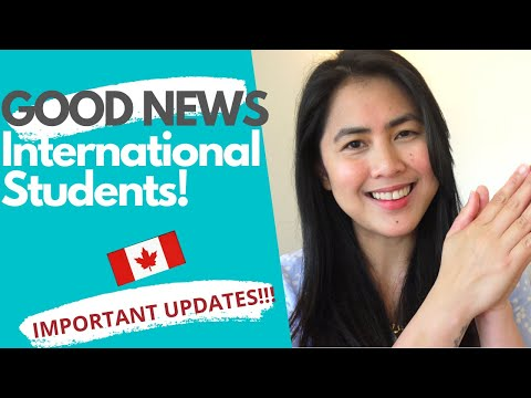 IMPORTANT UPDATES 2020: International Students In Canada - Study Permit Canada Visa 2020