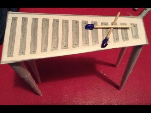 How to make a doll xylophone youtube how to make a doll xylophone ccuart Image collections