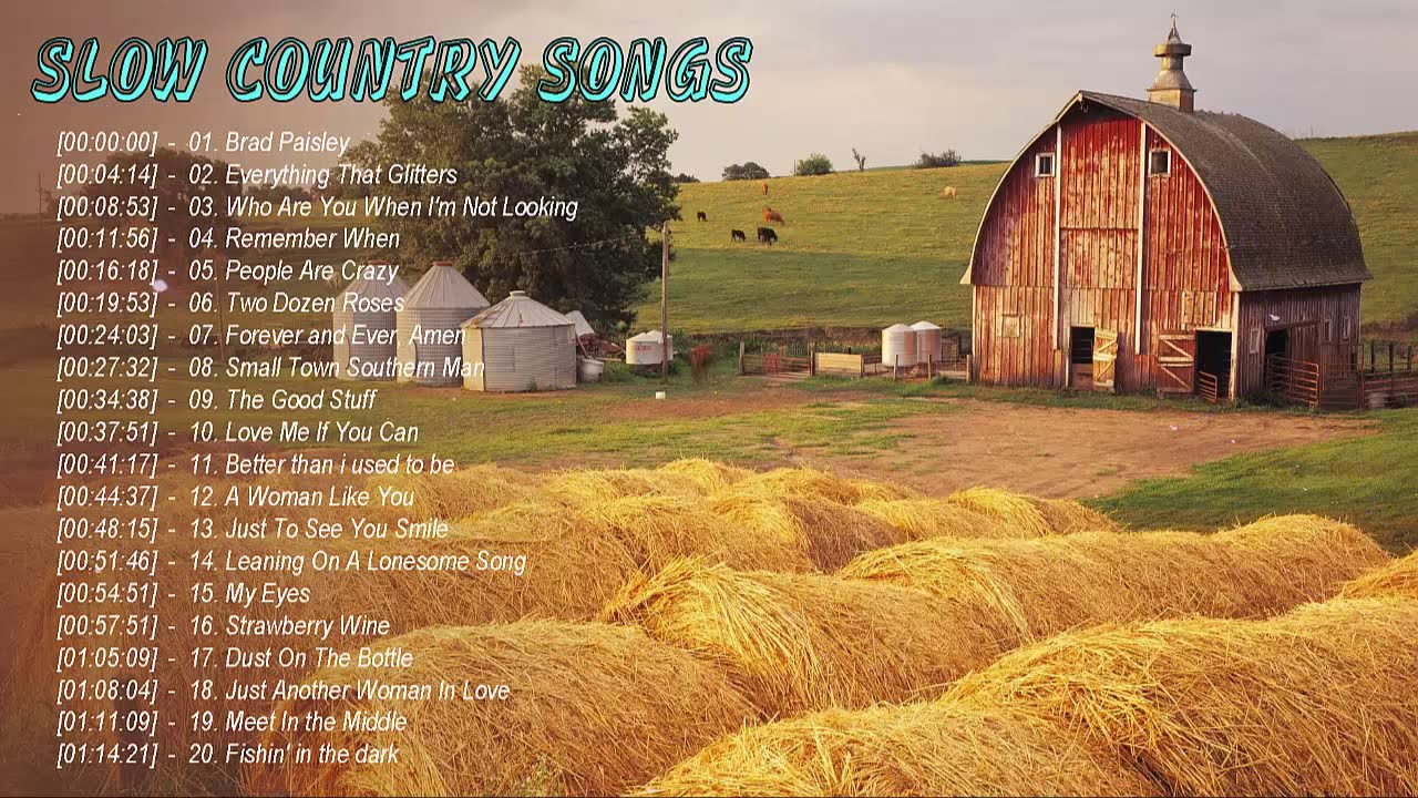 Download Relaxing Country Songs 2021 - Best Of Slow Country Songs Greatest Hits