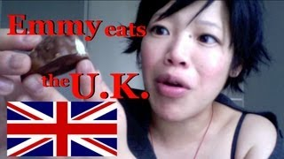 Emmy Eats the U.K. - tasting British sweets