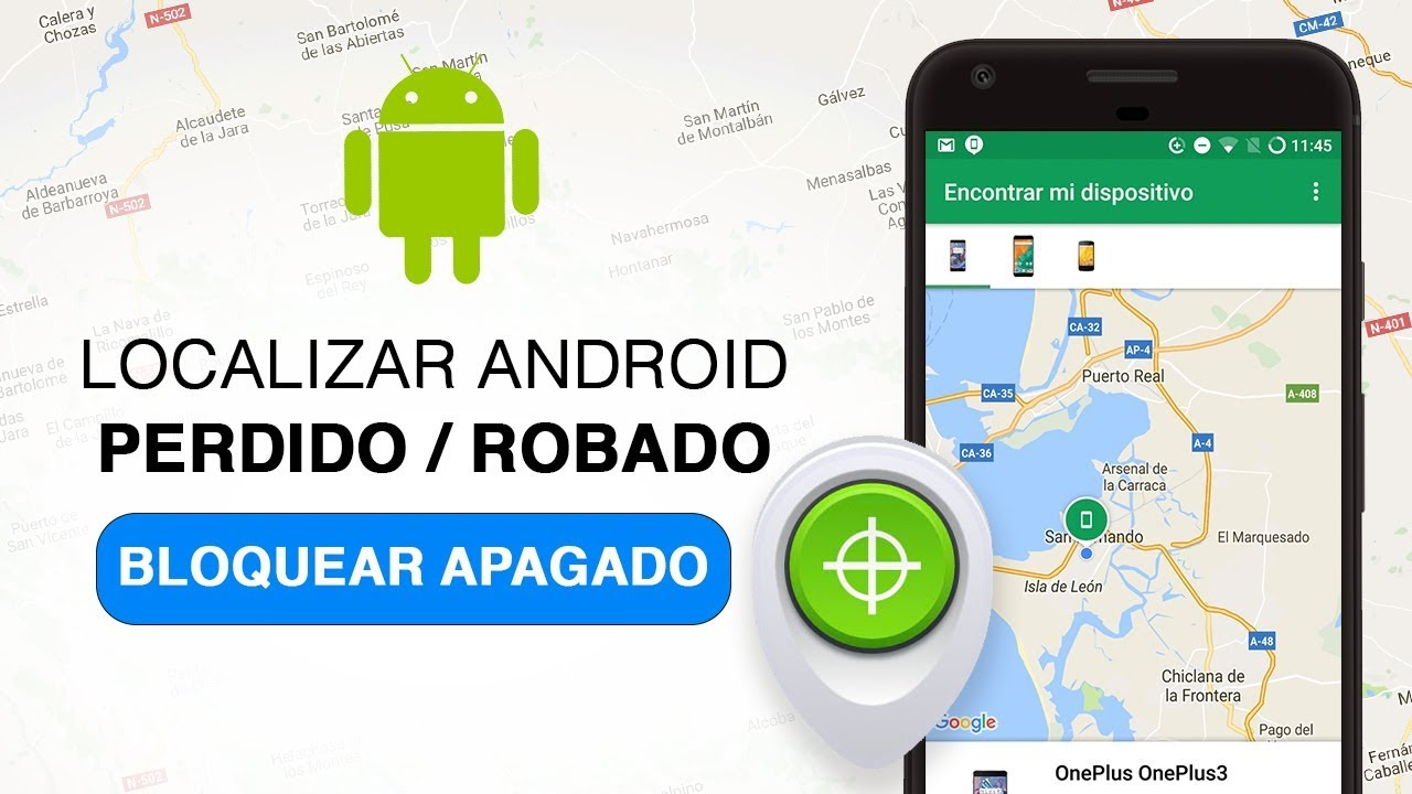Encontre seu dispositivo Android™ perdido ou roubado com o