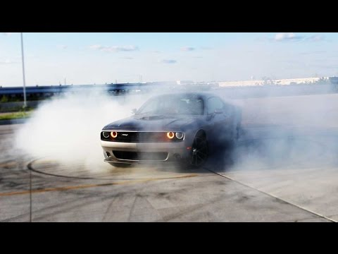 2016 Dodge Challenger Scat Pack Shaker: Great Way to Convert Rubber Into Smoke