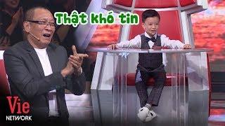 Lại Văn Sâm cho điểm tuyệt đối cậu bé nhận diện Quốc Huy 195 nước | SIÊU TRÍ TUỆ (The Brain Vietnam)