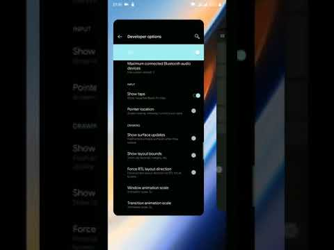OnePlus 6T new gesture on OnePlus 6