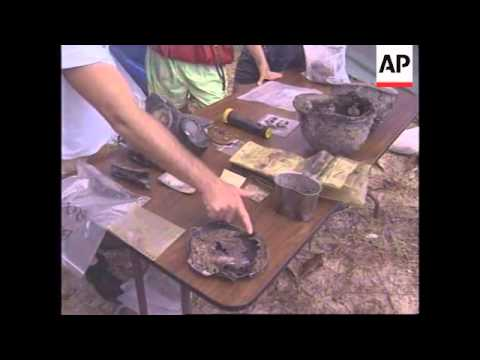 CAMBODIA: REMAINS OF 13 US SERVICEMEN FOUND AFTER 20 YEARS