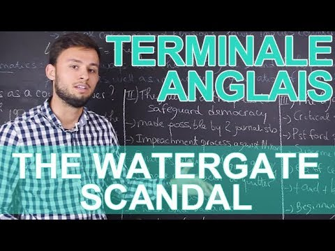 Places and forms of power : the Watergate scandal - Anglais - Terminale - Les Bons Profs