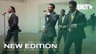 Moment of Truth: Cast of 'The New Edition Story' Perform for BET Execs
