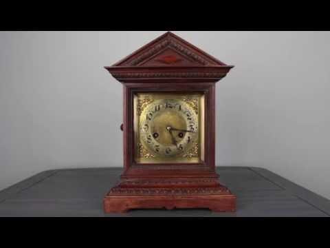 Junghans Bracket Clock C1900