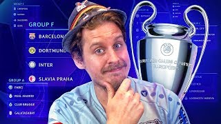 REACTING TO THE CHAMPIONS LEAGUE DRAW!