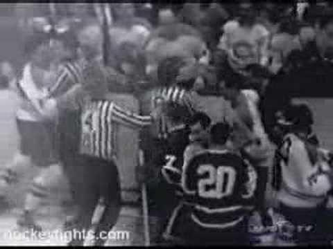 John Ferguson vs Bob Baun Mar 2, 1966