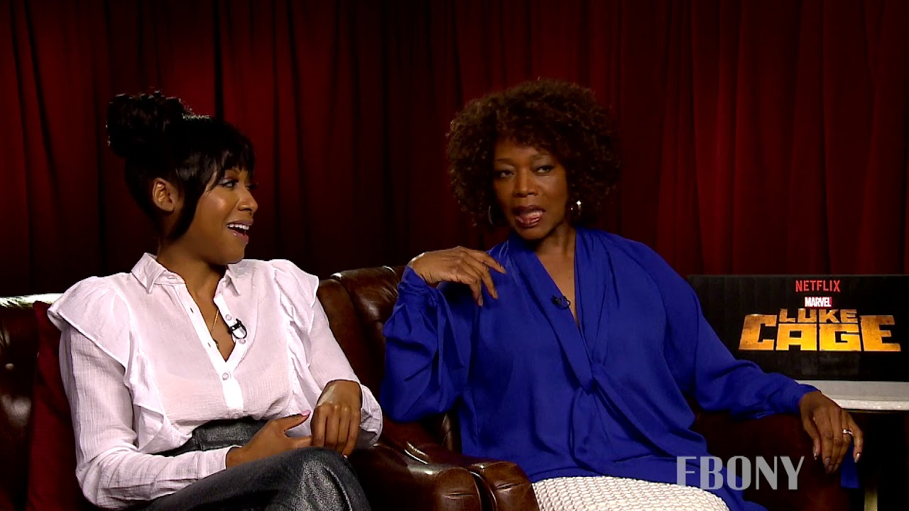 Alfre Woodard Wants To See Luke Cage In The Marvel Movies Youtube