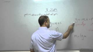 alkotab.net رياضيات بجروت--الدوال 2-الدالة الخطية-احمد عمري alkotab.net