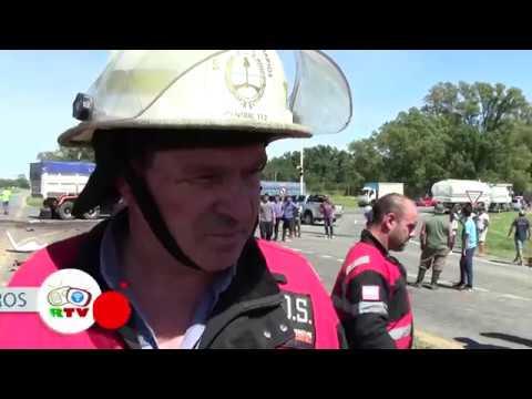 10-01-2017 Accidente Ruta 7 y 41 - San Andres de Giles