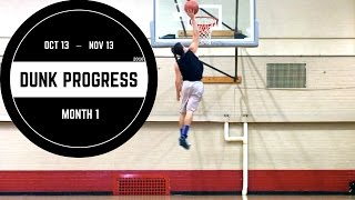 5'7 Dunker | Dunk Progress Month 1 Video