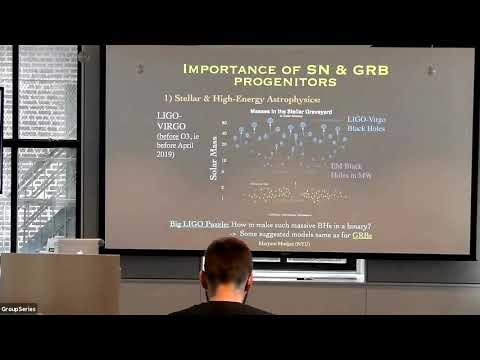 Maryam Modjaz - Stellar Forensics With The Most Powerful Explosions In The Universe (Oct 25, 2019)