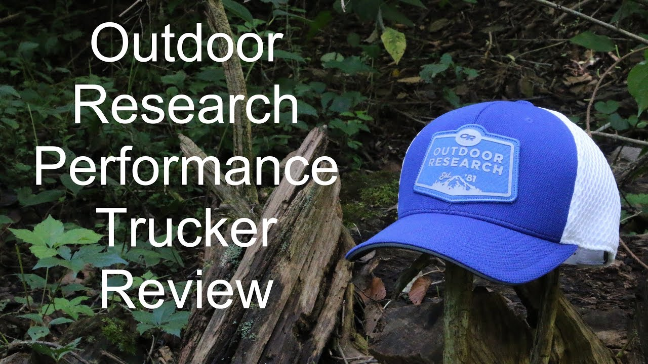 6b06bec29e5d5 Outdoor Research Performance Trucker Hat Review - YouTube
