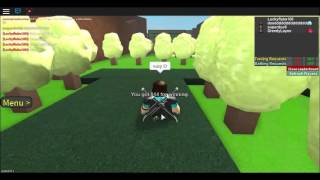 Roblox Project Pokemon! Episode 2! The way to our first gym!