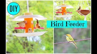 For all those who love these beautiful creations .....lets welcome them to your home by making this simple and cute birdfeeder at