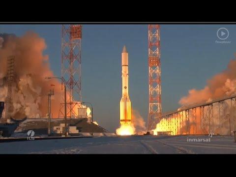 ILS Proton Launch of Inmarsat-5 F2