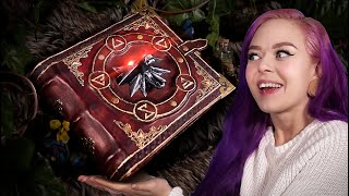 I Made The WITCHER Tome - With Glowing Eyes!