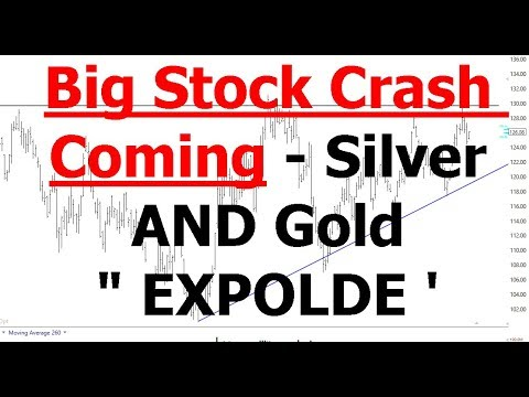 Silver And Gold Are Going EXPLODE  | BIG STOCK CRASH COMING