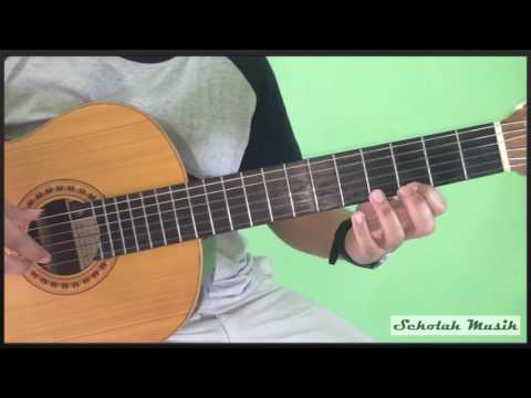 Belajar Melodi Tangga Nada C Mayor di Gitar (do re mi)
